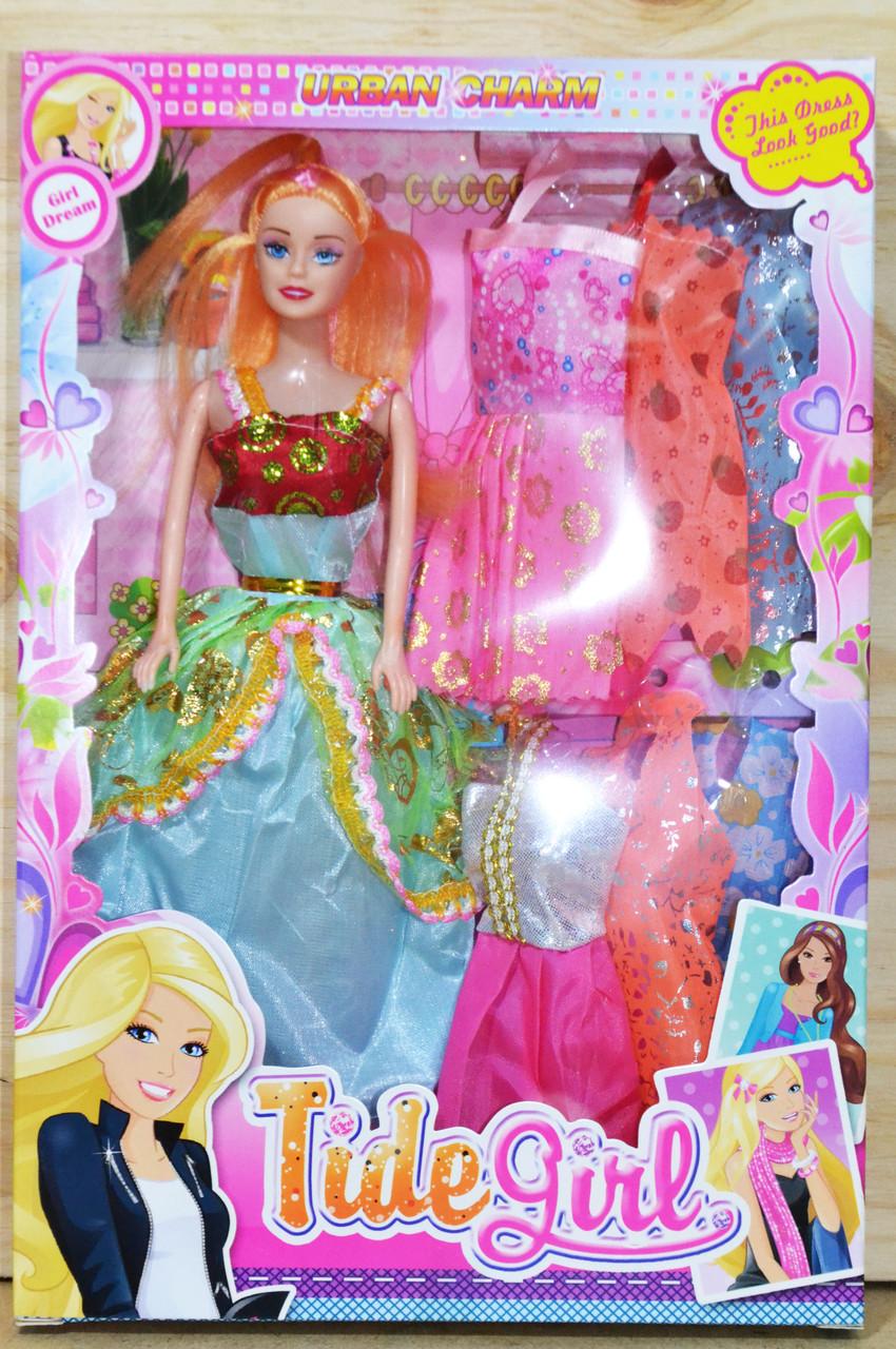 Q17 Кукла Tide Girl 6 платьев 32*22