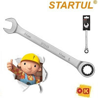 Ключ трещоточный 14 мм, 72 зуба. PRO STARTUL