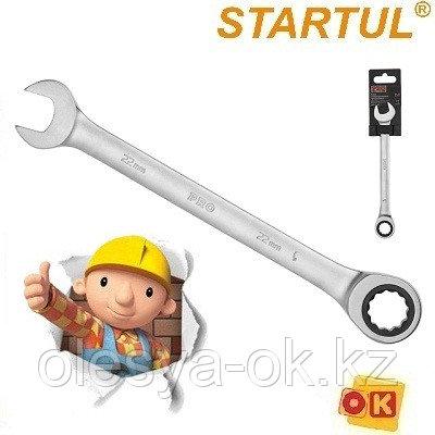 Ключ трещоточный 22 мм, 72 зуба. PRO STARTUL