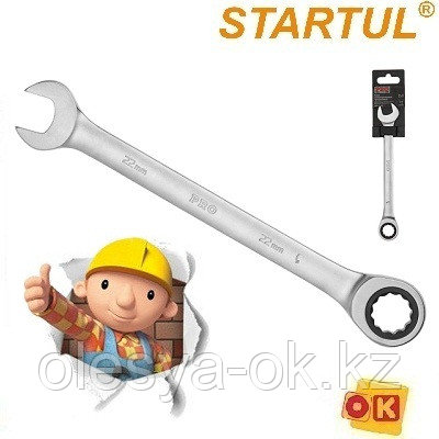 Ключ трещоточный 24 мм, 72 зуба. PRO STARTUL, фото 2