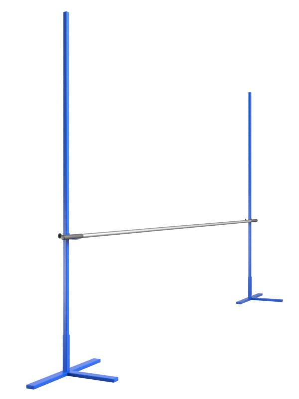 Стойки для прыжков в высоту в комплекте с алюминиевой планкой 3 м