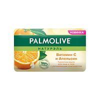 Туалетное мыло для лица и тела Palmolive Натурэль Витамин С и Апельсин 150 г