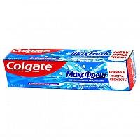 """Зубная паста """"Colgate максфреш"""" взрывная мята, с освежающими кристаллами 50ml"""
