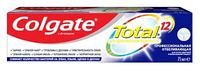 Зубная паста COLGATE Total 12 профессиональная отбеливающая комплексная