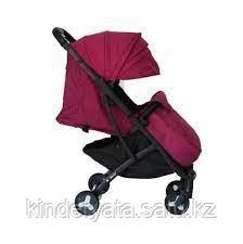 Коляска MSTAR 301 бордовый, фиолетовый
