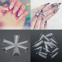 Типсы для наращивания искусственных ногтей