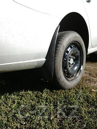 Брызговики для Volkswagen Polo (2010-2015) задние (пара), фото 2
