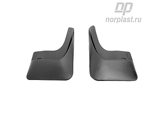 Брызговики для Volkswagen Polo (2015-2020) задние (пара)