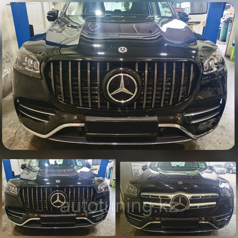 Решетка радиатора GT Panamericana на Mercedes Benz GLS X167 2020+
