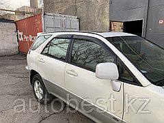 Ветровики на Lexus Rx300 1997-2003/дефлекторы боковых окон на Лексус рх300