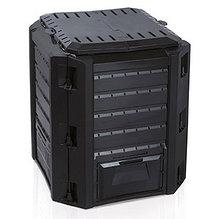 Ящик для компоста (компостер садовый) 380л Prosperplast Compogreen IKST380C черный