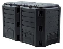 Ящик для компоста (компостер садовый) 800л Prosperplast Module IKSM800C-S411 черный