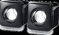 Компактная акустика 2.0 Defender SPK 35 (Black)