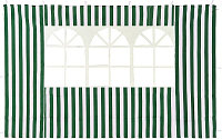 Стенка для садового тента Green Glade 4110 2х3м полиэстер, с окном, зеленая
