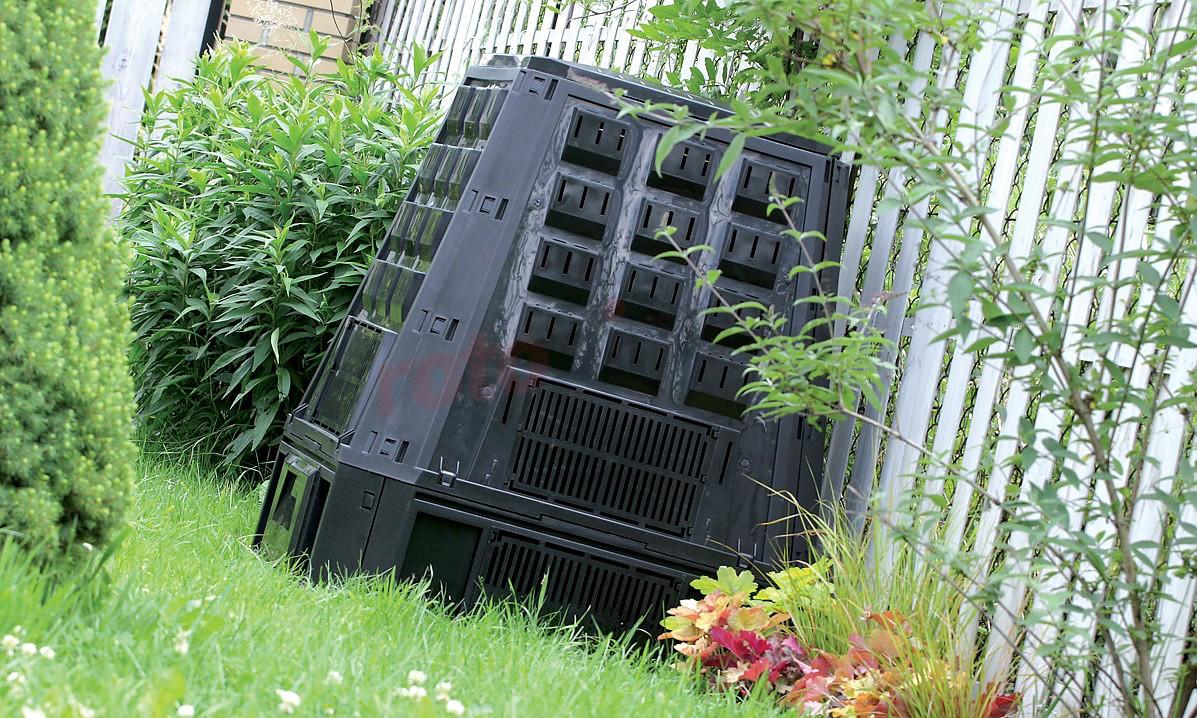 Компостер садовый Prosperplast Evogreen 630 л черный IKEV630C-S411 - фото 2