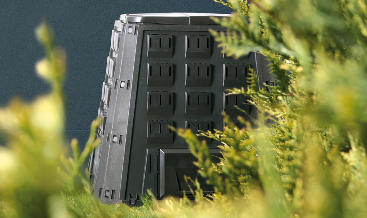 Компостер садовый Prosperplast Evogreen 630 л черный IKEV630C-S411 - фото 3