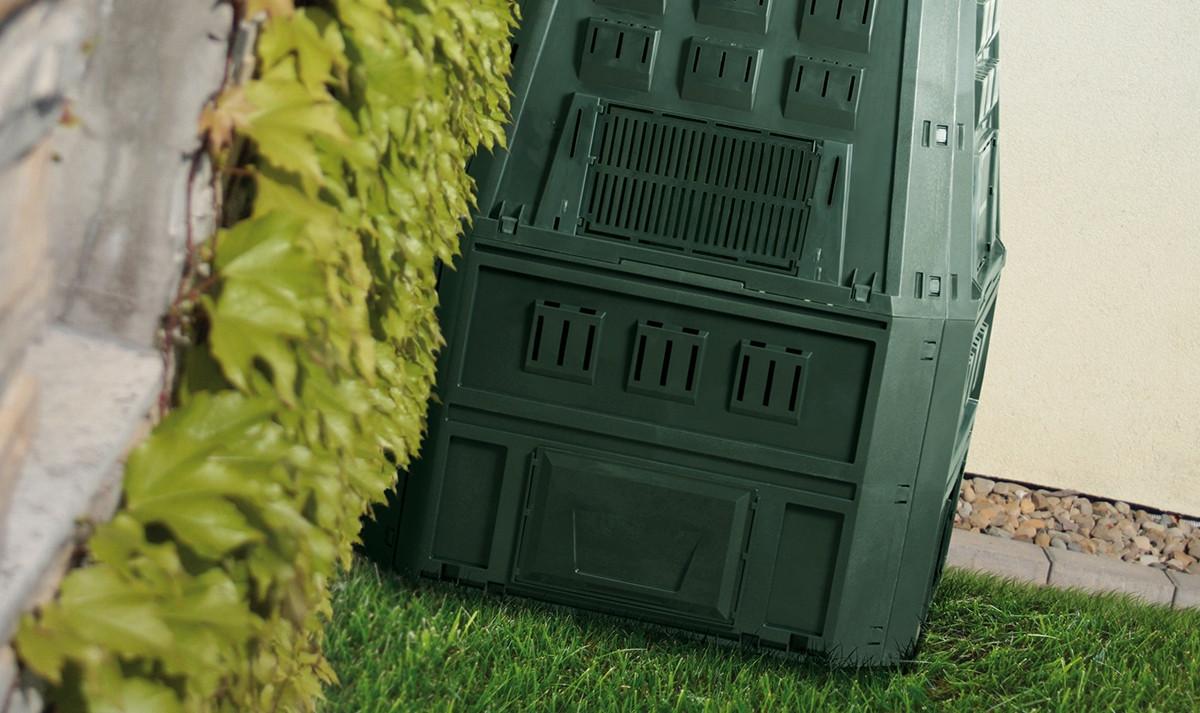 Компостер садовый Prosperplast Evogreen 630 л черный IKEV630C-S411 - фото 4