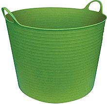 Корзина садовая Helex H842, зеленый 42 л, пластик