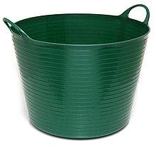 Корзина садовая Helex H860, темно-зеленый 60 л, пластик