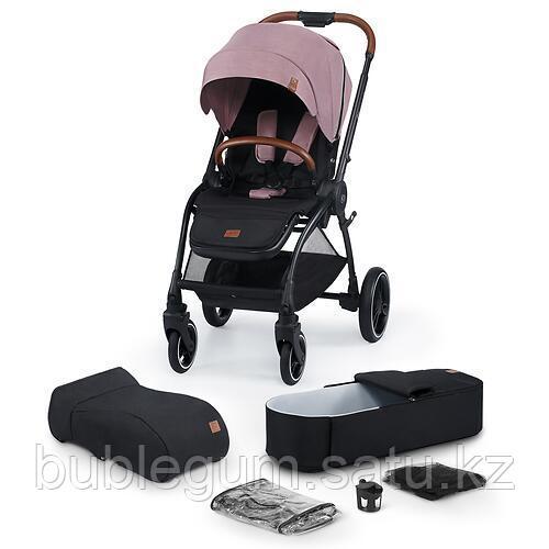 Коляска 2в1 Kinderkraft 🇪🇺 EVOLUTION COCOON Mauvelous Pink