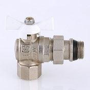 Кран шаровой VALTEC BASE ВН-НАР угловой с полусгоном и дополнительным уплотнением, фото 3