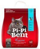 Pi Pi Bent 5кг 12л Классик наполнитель комкующийся