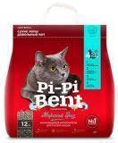 Pi Pi Bent 5кг (12л) Морской бриз наполнитель комкующийся