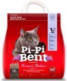 Pi Pi Bent 5кг (12л) Нежный Прованс наполнитель комкующийся.