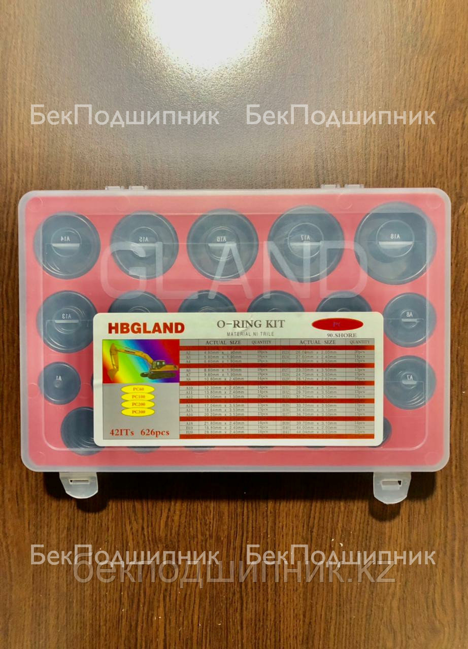 Набор резиновых колец (уплотнителей) HBGLAND