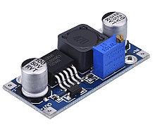Модуль XL6009 DC-DC повышающий регулируемый преобразователь Uin 3---32V, Uout 5---35V, 2(4) А