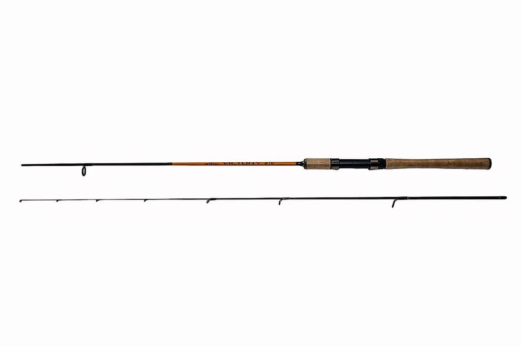 Спиннинг  VICTORY carbon, ручка пробка,1-7гр Длина 2,4 м