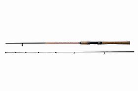 Спиннинг ультралайт  VICTORY carbon, ручка пробка,0-10гр Длина 2,4 м