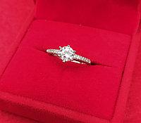 Серебряное кольцо Королева 16р