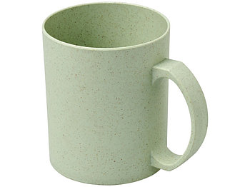 Чашка из пшеничной соломы Pecos 350 мл,  мятный