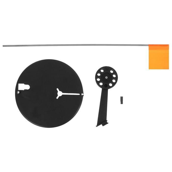 Жерлица с угловой стойкой с катушкой d=65, цвета микс, 1 шт. - фото 2