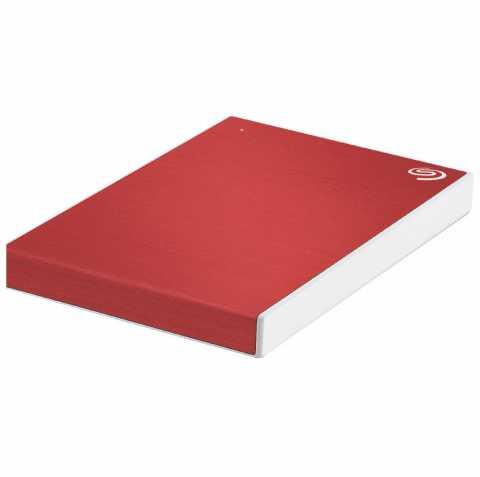 Внешний HDD Seagate 1Tb One Touch Красный Пластик STKB1000403