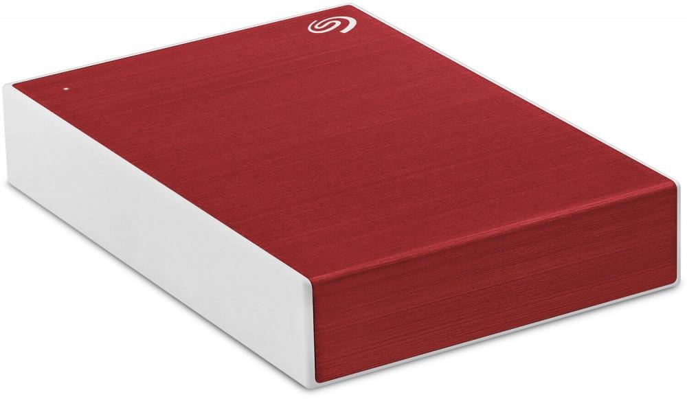 Внешний HDD Seagate 2Tb One Touch Красный Пластик STKB2000403