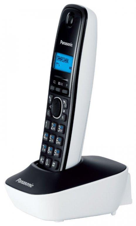 Радиотелефон PANASONIC KX-TG1611 (RUW) Белый.