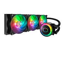 Водяное охлаждение для CPU CoolerMaster MasterLiquid ML360R RGB 650-2000RPM 30dBA