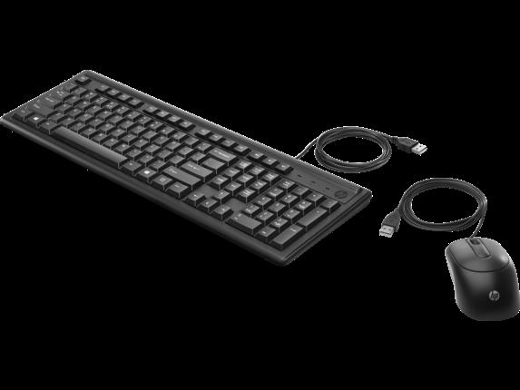 Клавиатура и манипулятор HP Europe 160 (6HD76AA#B15)