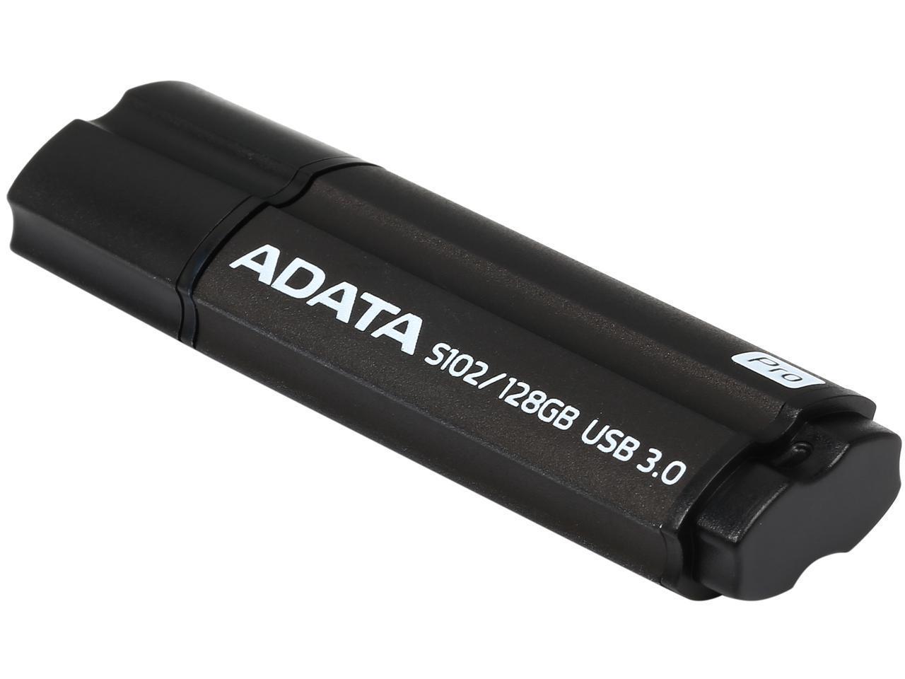 Флешка ADATA DashDrive Elite S102PRO, 128GB, UFD 3.0, Gray