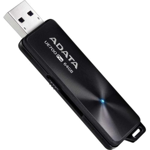Флешка ADATA DashDrive UE700PRO, 64GB, UFD 3.1, Black