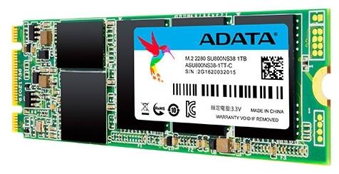 Жесткий диск SSD ADATA SU800N38 1TB M.2