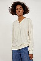 Блузка женская Finn Flare, цвет молочный, размер 3XL