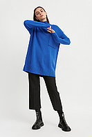 Джемпер женский Finn Flare, цвет синий, размер M