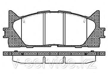 Тормозные колодки YOTO G-444(MD 2270)REMSA 1233.00)