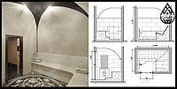 Проект турецкого хаммама. По этапность проектирования с особенностями.