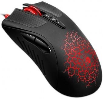 Мышь игровая Bloody A90 Blazing USB <4000 CPI, 2.4M pixels/sec, 125~1,000Hz/sec, 1.8m
