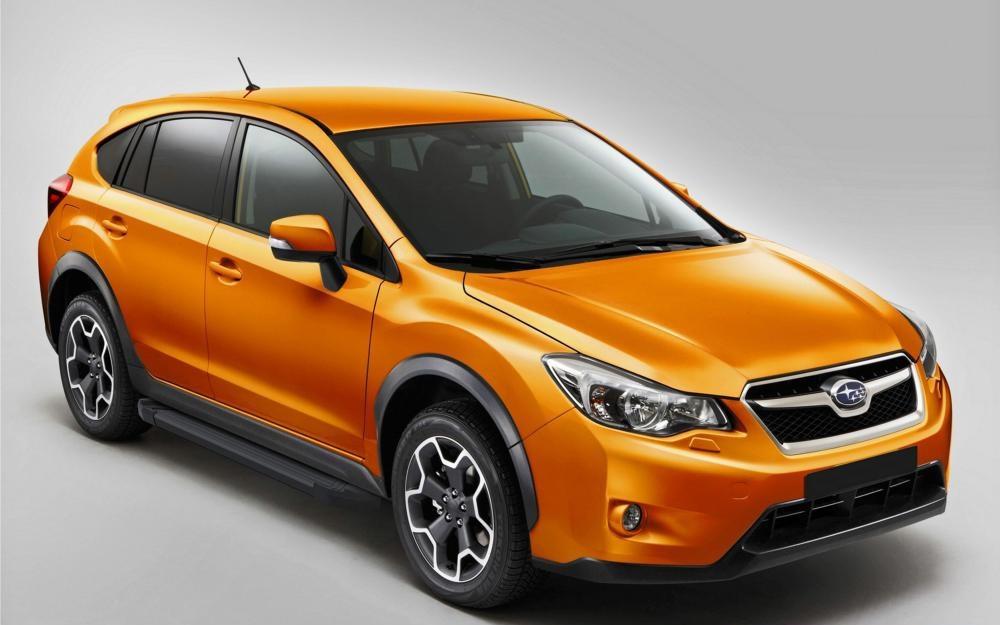 "Пороги ""Black""  Subaru XV (2011-2016)"
