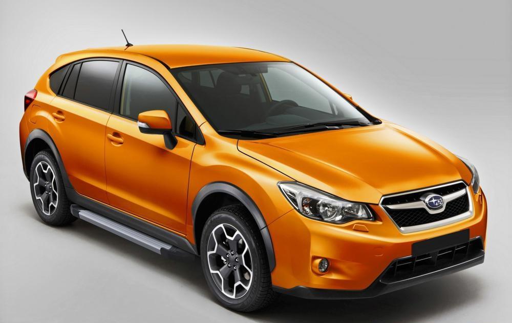 "Пороги ""Silver""  Subaru XV (2011-2016)"